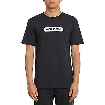 Volcom New Euro Short Sleeve T-Shirt in Black