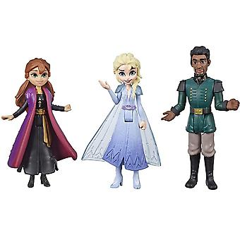 Frozen 2, Figuren - Elsa, Anna und Mattias