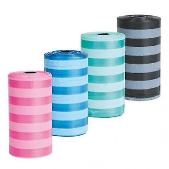 Trixie 4 Rotoli da 20 Sacchetti colori assortiti