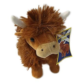 Innes Cromb Small Highland Cow Soft Toy