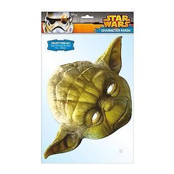 Star Wars Official Yoda Cardboard Face Mask