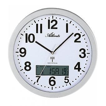 壁の時計付きラジオ アトランタ - 4380-19