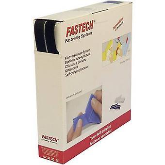 FASTECH® B20-SKL999925 Haak-en-lus tape stick-on (hot melt lijm) Haak en loop pad (L x W) 25000 mm x 20 mm Zwart 25 m Zwart