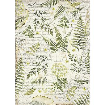 Stamperia Rice Paper Sheet A3-Leaves