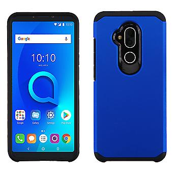 ASMYNA Blue/Black Astronoot Phone Protector Cover  for T-Mobile Revvl 2 Plus,7 Folio
