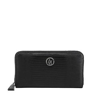 Armani Jeans Original Women All Year Wallet - Black Color 34285