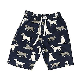 LazyOne Mens Labrador Cani Pyjama Pantaloncini