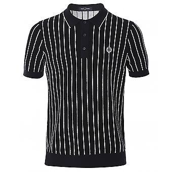 Fred Perry Stribe strikket skjorte K8523 608