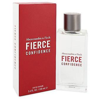 Fierce Confidence Eau De Cologne Spray Por Abercrombie & Fitch 3.4 oz Eau De Cologne Spray