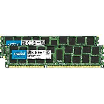 CrucialCT2C16G3R186DM Kit Memoria 32 GB (16 GBx2) DDR3 1866 MT/s (PC3-14900) Registered DIMM 240-Pin Memory for Mac