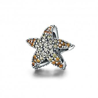 Sterling Silver Charm Ocean Starfish - 5554
