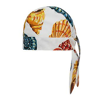 Dolce & Gabbana Cotton Bandana With All-Over Shells Print.