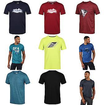 Regatta Mens Fingal V Graphic Active T-Shirt