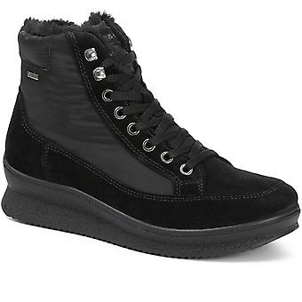 Igi & Co Womens Gore Tex Water Repellent Lace Up Ankle Boot