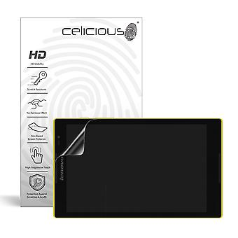 Celicious Vivid Invisible Glossy HD Screen Protector Film Compatible with Lenovo Tab S8-50 [Pack of 2]