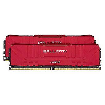 RAM Memory Crucial Ballistix 32 GB DDR4 2666 MHz Red