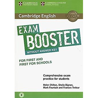 Cambridge English Exam Booster for First and First for Schools without Answer Key with Audio by Chilton & HelenDignen & SheilaFountain & MarkTreloar & Frances