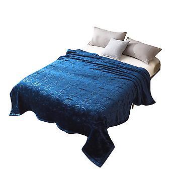 Coral fleece single-sided printing blanket