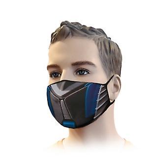 μάσκα στόματος - κασέτα φίλτρου streetwear F7 πρότυπο EU PN-EN 779 - 3D εκτύπωση