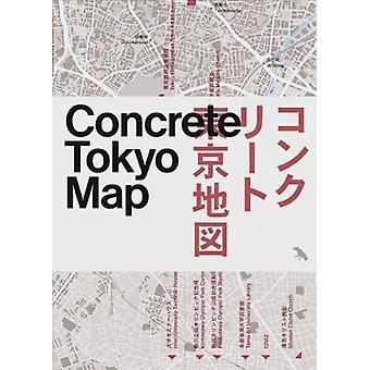 Concrete Tokyo Map by Naomi Pollock - 9781912018680 Book