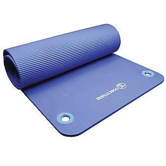 Fitness Mad Core Fitness Mat avec eyelets en bleu 10mm