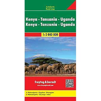 Kenya / Tanzania / Uganda - 2018 - 9783707913880 Book