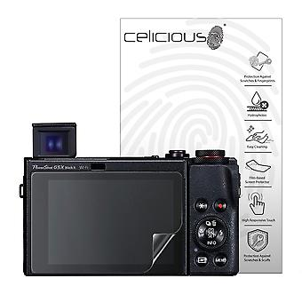 Celicious Impact Anti-Shock Shatterproof Screen Protector Film Compatible with Canon PowerShot G5 X Mark II
