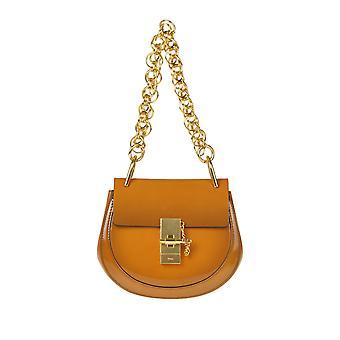 Chloé Ezgl079040 Women's Brown Leather Shoulder Bag