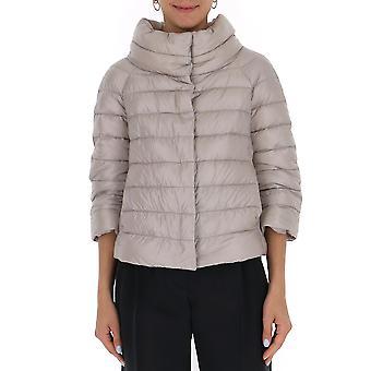 Herno Pi0046dic120179402 Women's Beige Nylon Outerwear Jacket