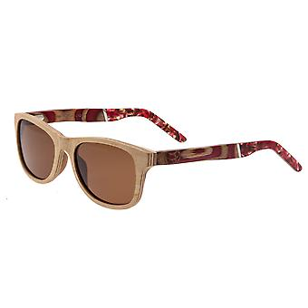 Earth Wood El Nido Polarized Sunglasses - Khaki/tan/Brown
