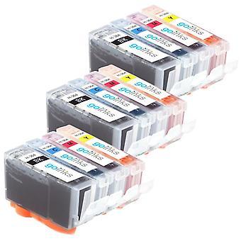 3 kompatible Sets mit 4 HP 364 (HP364XL) Druckertintenpatronen
