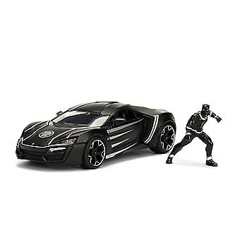 Black Panther Lykan Hypersport 1:24 Hollywood Rd Diecast Veh