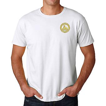 The South Wales Borderers Embroidered Logo WW2 - Official British Army Ringspun T Shirt