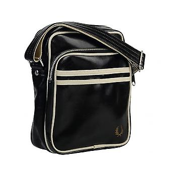 Fred Perry Classic Side Bag Zwart