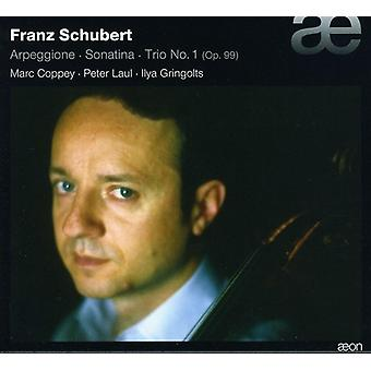 F. Schubert - Schubert: Arpeggione; Sonatine; Trio No. 1, Op. 99 [CD] USA import