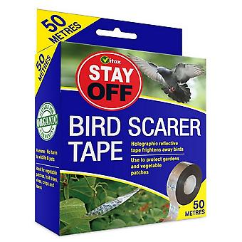 Vitax hålla sig borta Bird Scarer Tape