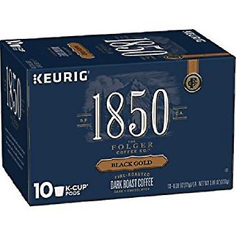 Folgers 1850 Black Gold Coffee K Cups