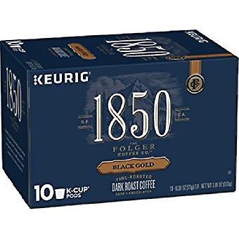 Folgers 1850 černá zlatá káva K šálky