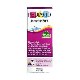 Pediakid Inmuno Fort (Blueberry Flavor) 125 ml (Blueberries)