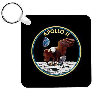 NASA Apollo 11 Mission Badge Keyring