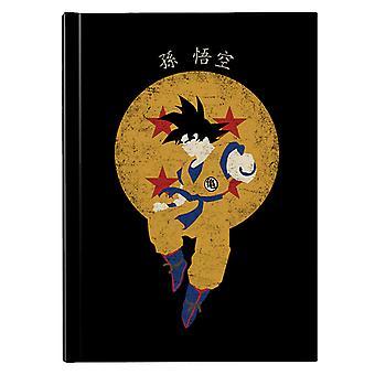 Saiyan Hero Dragon Ball Z Hardback Journal