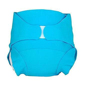 Washable diaper - Glacier Blue model - Size S (4-8 kg) 1 unit (S)