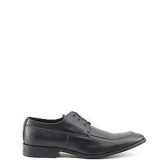 Hergestellt in italia leonce men's Gummisohle geschnürte Schuhe