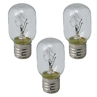 Microwave Oven 8206232A Light Bulb Replacement Set of 3