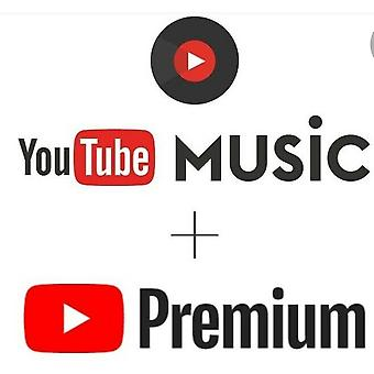 1 Year Youtube Premium Youtube Music Access Works On Pc Ios Android Smart Tv