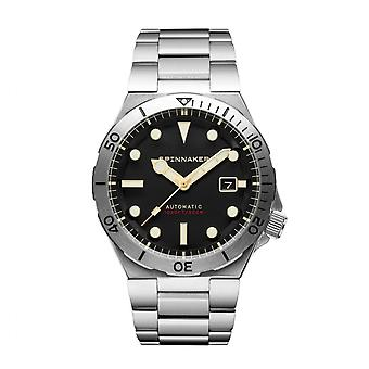 Spinnaker SP-5083-11 Gent's Boettger Black Dial Wristwatch