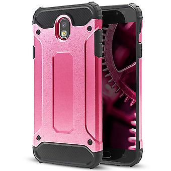 Hard Mobile Shell for Samsung Galaxy J7 (2017) J730 Pink Hybrid
