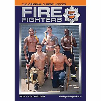Otter House 2021 A3 Calendar-fire Fighters