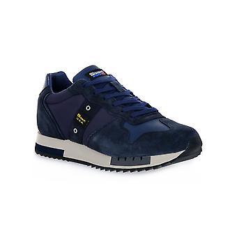 Blauer marine koninginnen sneakers mode