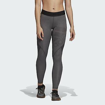 Adidas Women's Alphaskin Leggings DX3664 Grey